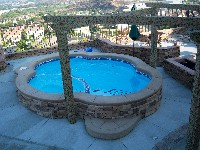 Crystal Beach Fiberglass Pool and Spa