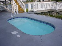 San Juan's Fort Myers Fiberglass Swimming Pool