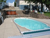 San Juan's Kokomo Fiberglass Swimming Pool