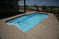 San Juan's Mirage Fiberglass Swimming Pool