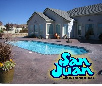 San Juan's Phoenix Fiberglass Swimming Pool