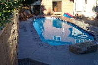 San Juan's Savannah Deep Fiberglass Swimming Pool